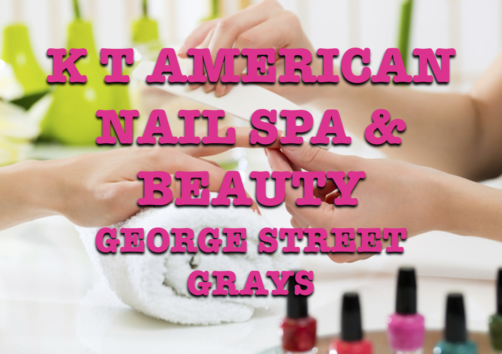 K.T American Nails and beauty