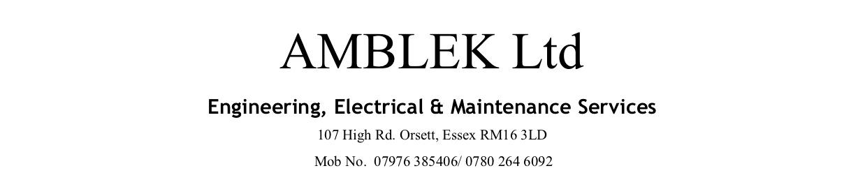Amblek Ltd