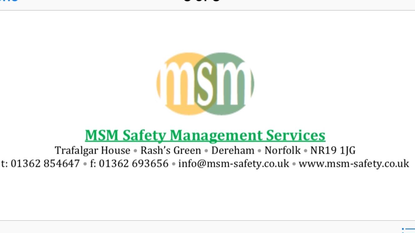 MSM Safety management services