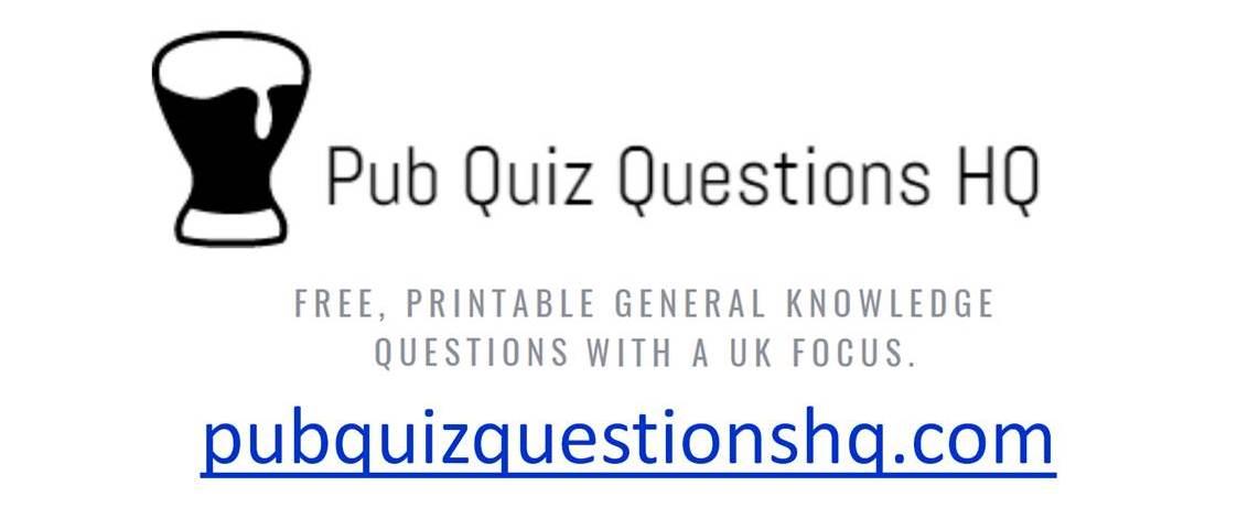 Pub Quiz Questions HQ