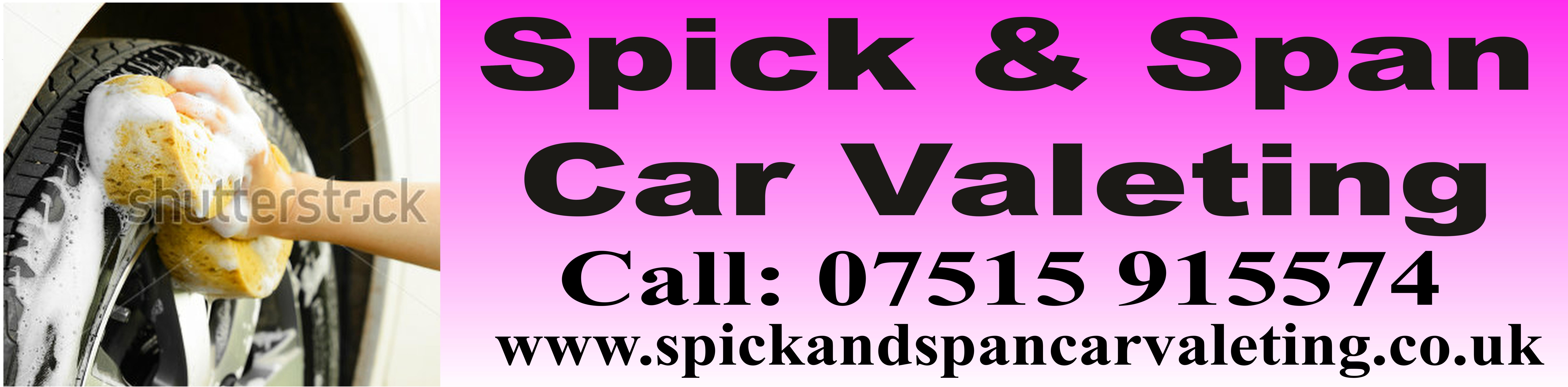 Spick & Span Car Valet