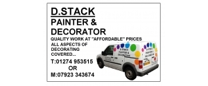 D.STACK PAINTER & DECORATOR