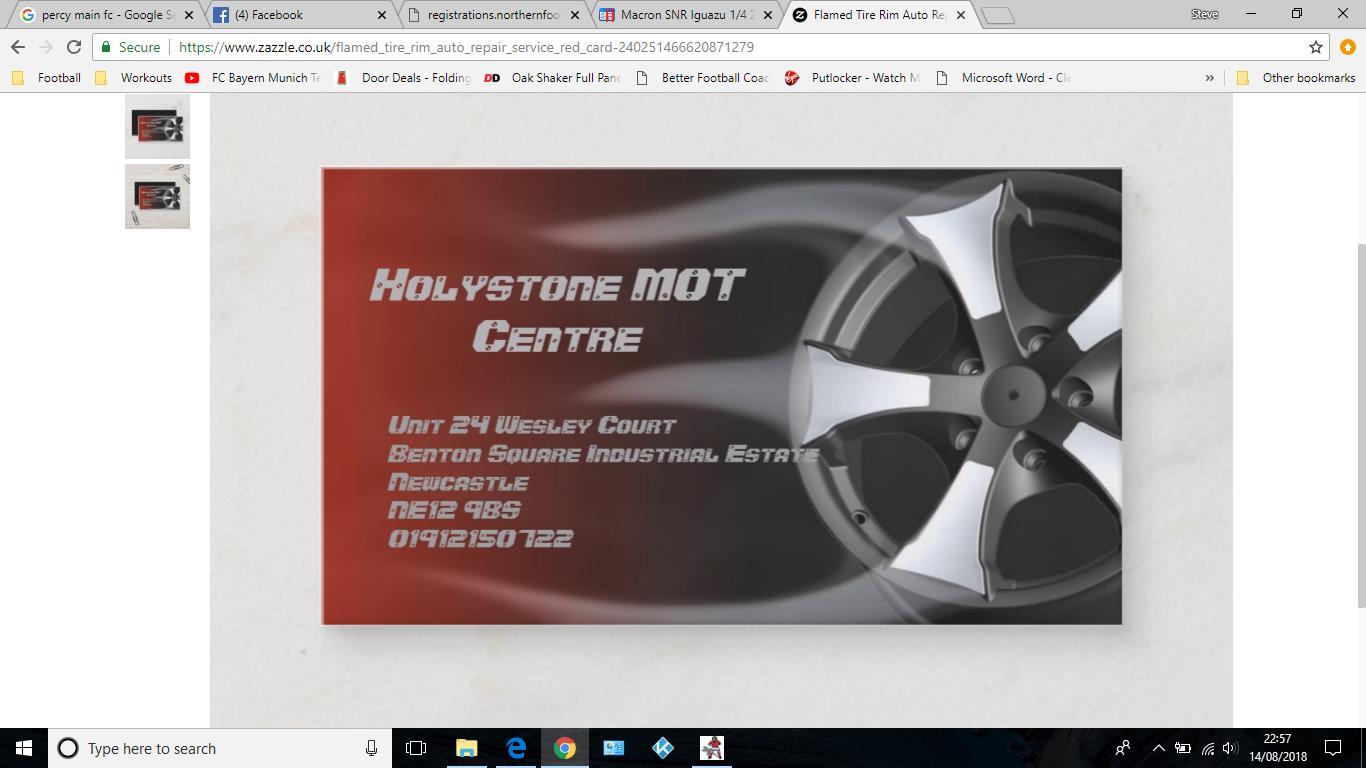 Holystone MOT Centre