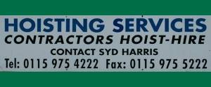 Hoisting Services (Midlands) Ltd