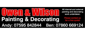 Owen and Wilson Painting and Decorating