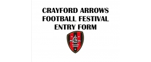 Crayford Arrows Football Festival Entry Form