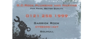 G.C.Rock Plumbing & Heating