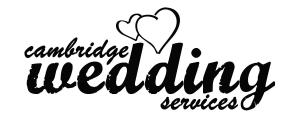 Cambridge Wedding Services