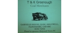 T& K Greenhough Coal Merchants