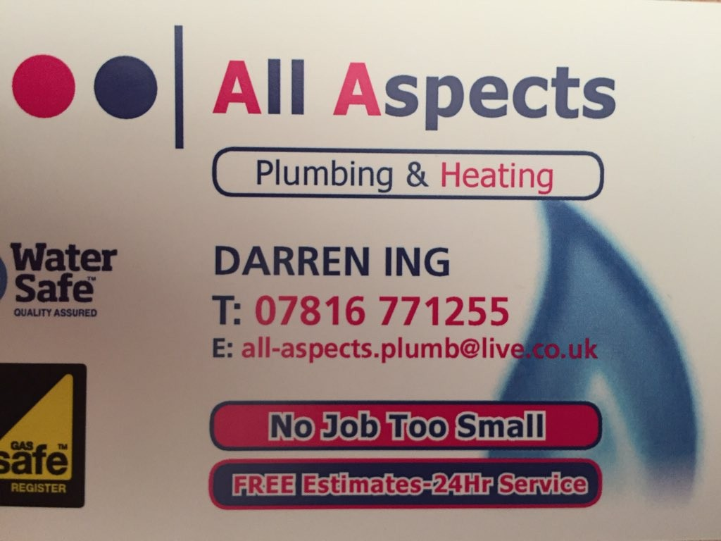 All Aspects Plumbing and Heating