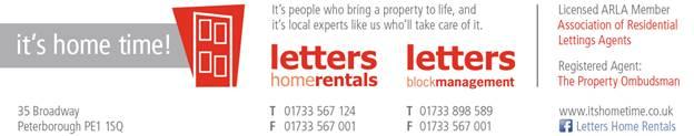Letters Homerental
