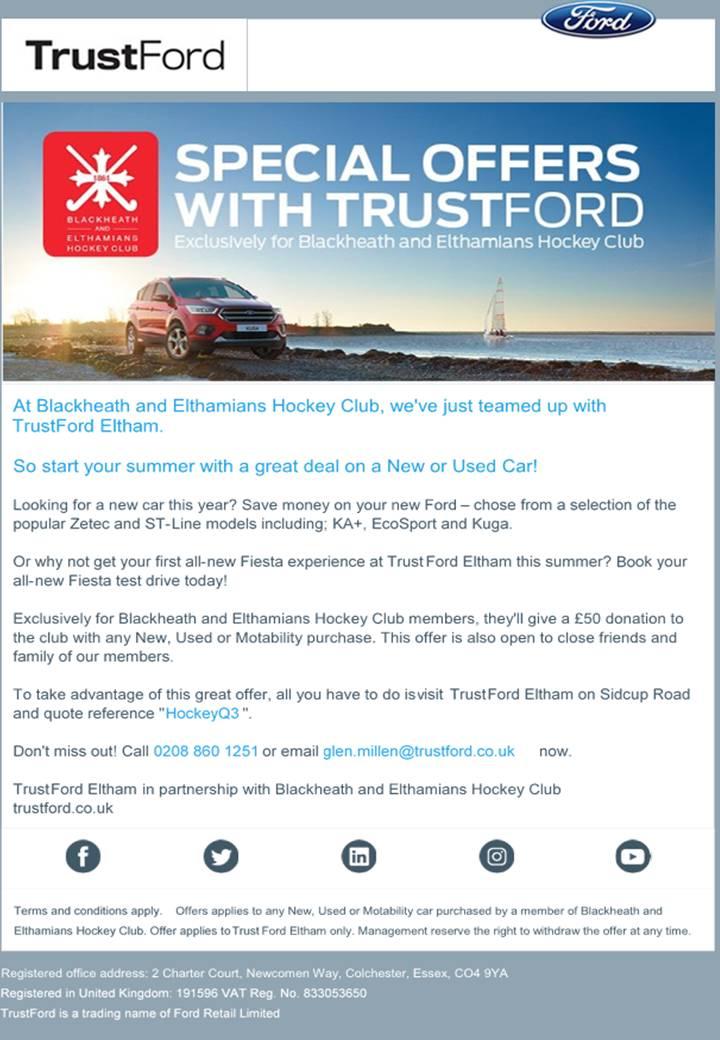 TrustFord Offer
