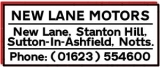 New Lane Motors