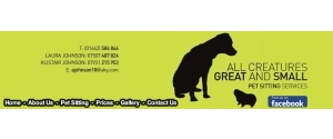 All Creatures Great and Small Pet Sitting Services