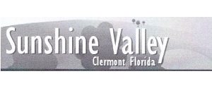 Sunshine Valley, Clermont Florida