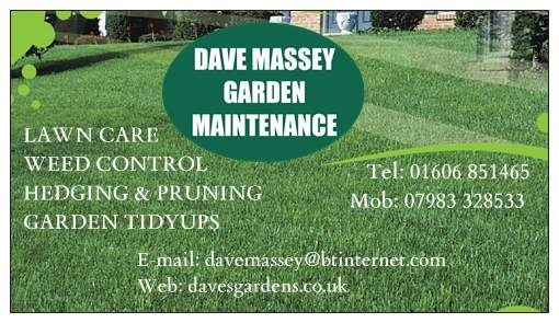 DAVE MASSEY GARDEN MAINTENANCE