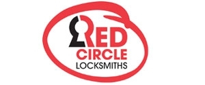Red Circle Lock & Key