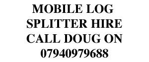 Mobile Log Splitter Hire
