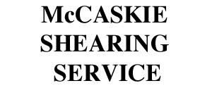 McCaskie Shearing Service