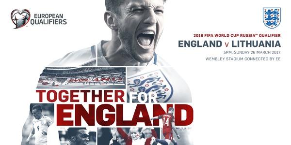 England v Lithuania