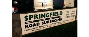 Springfield Road Surfacing