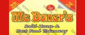 McDoners Balti House