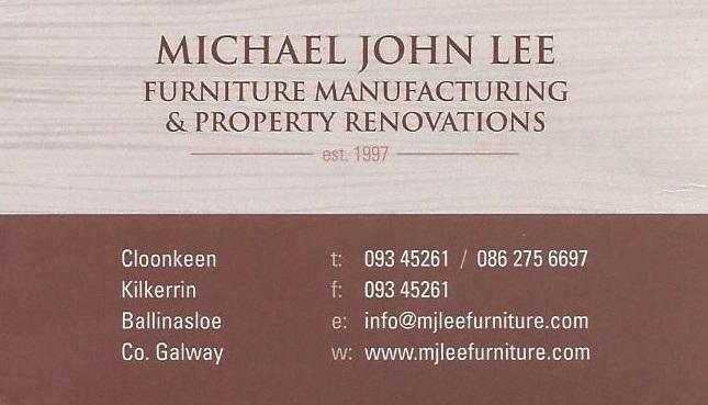 Michael John Lee Furniture Manufacturing Ltd