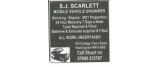 S J Scarlett Motor Engineer