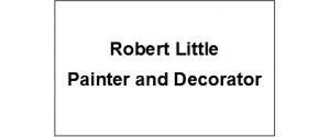 Robert Little Painter and Decorator