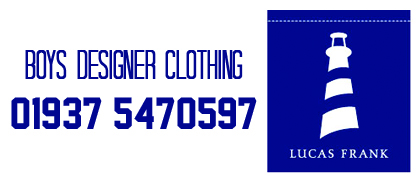 Lucas Frank Boys Designer Clothing