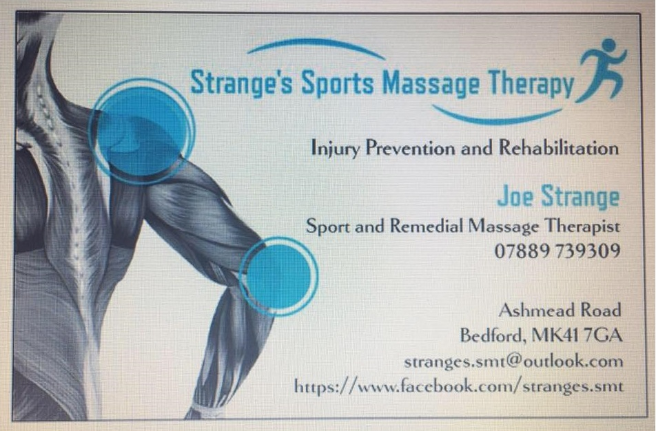 Strange's Sports Massage Therapy