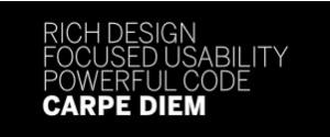 Carpe Diem - Website Design