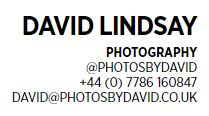 David Lindsay - Photographer