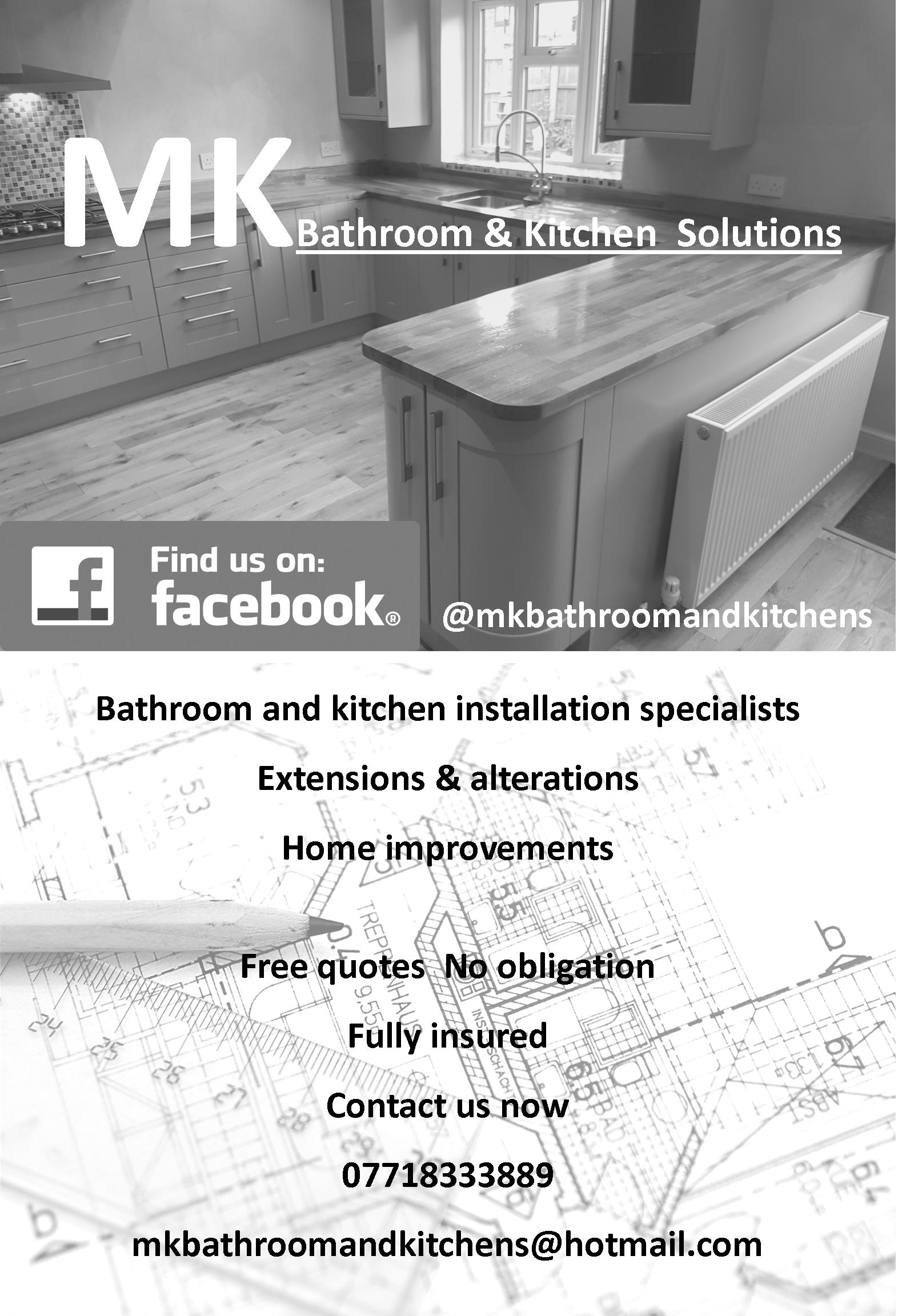 M K Bathrooms & Kitchens Solutions