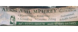 Alan A. Humphrey Plastering