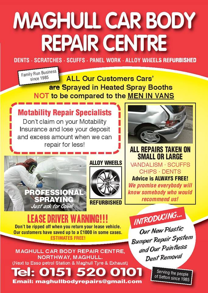 Maghull Car Body Repair Centre