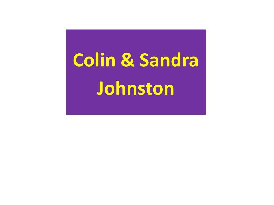 Colin and Sandra Johnston