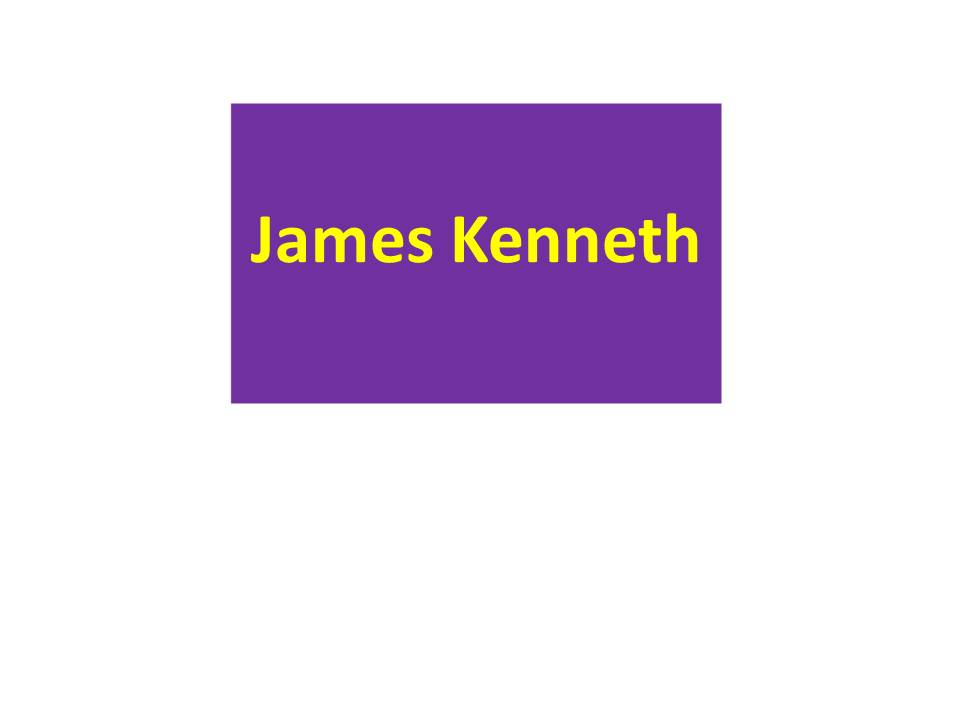 James Kenneth