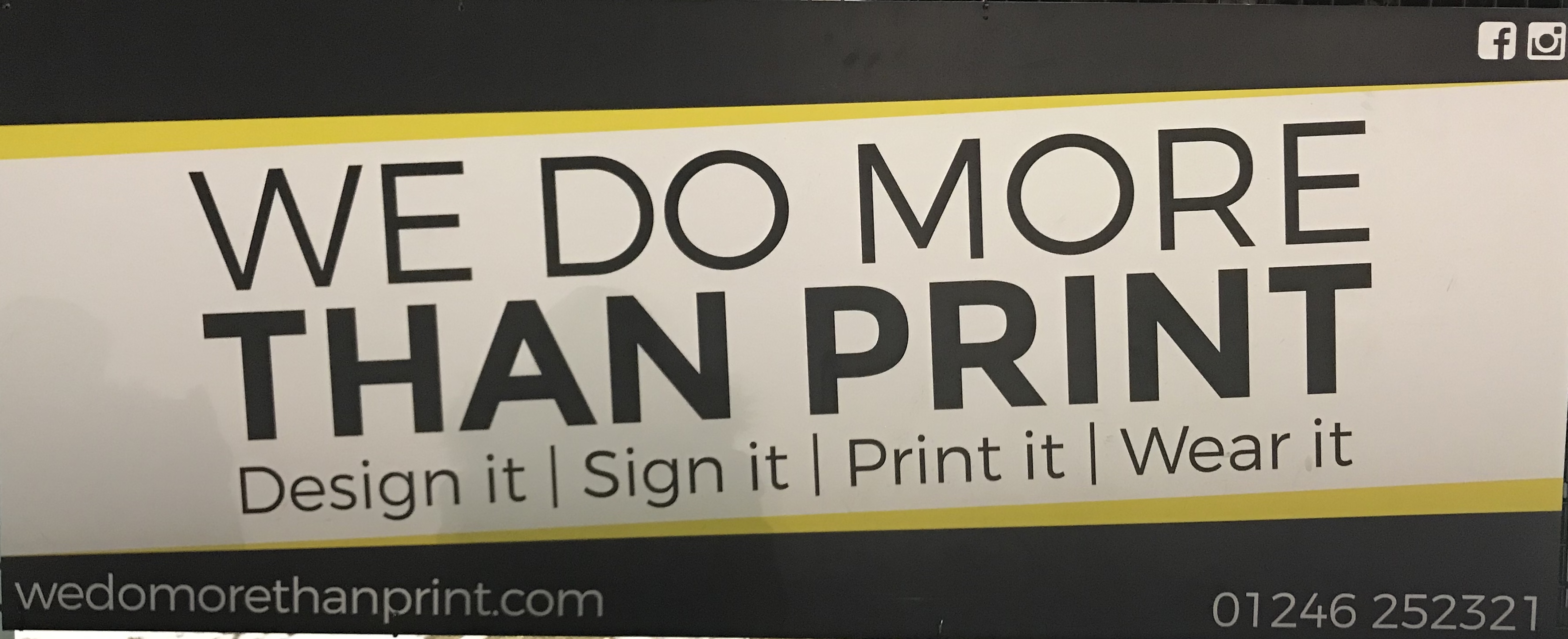 We Do More Than Print
