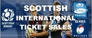 Scottish International Ticket Sales