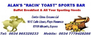 Alan's Racin' Toast Sports Bar