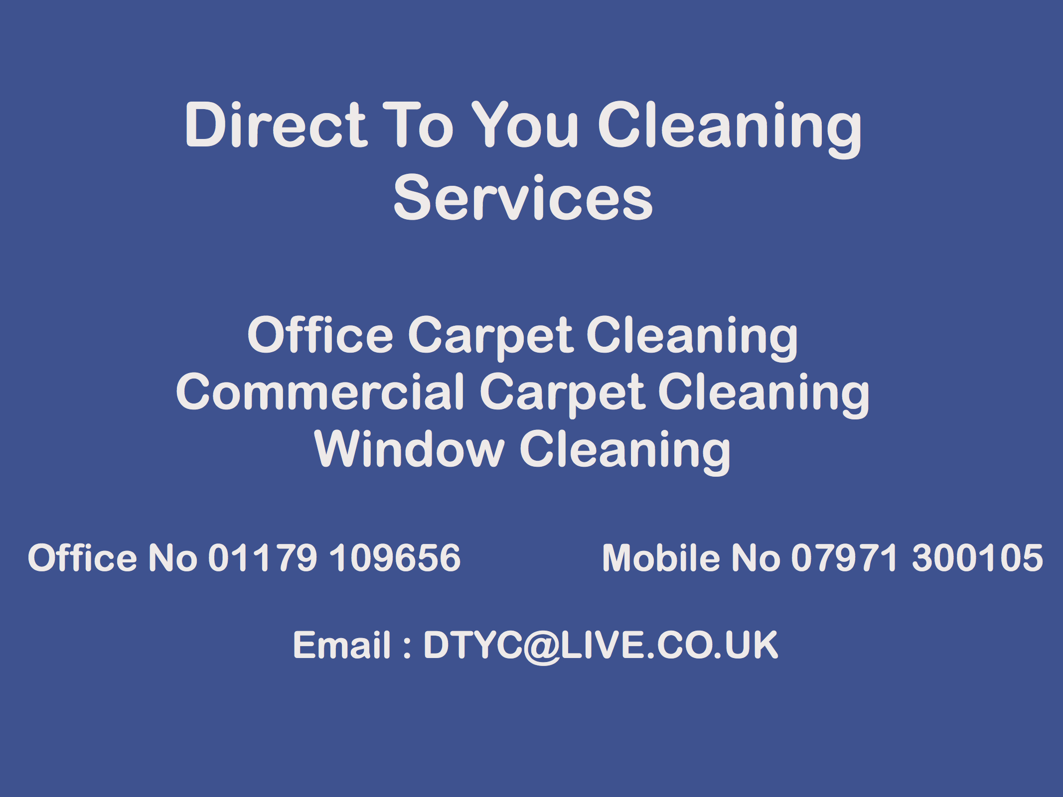 Direct To You Cleaning