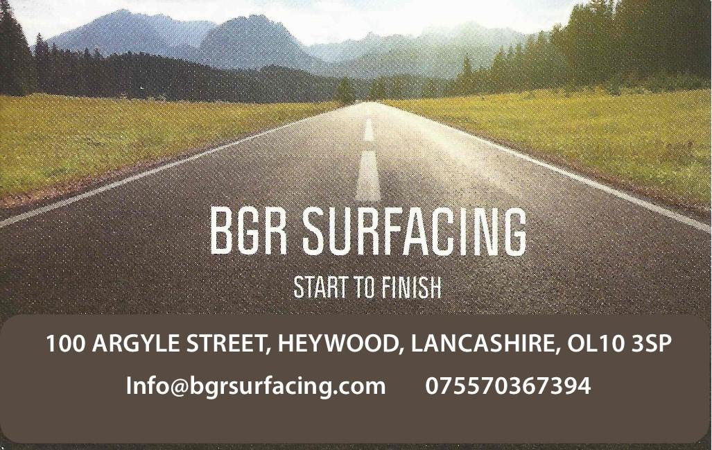 BGR Surfacing