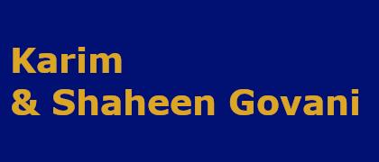 Karim & Shaheen Govani