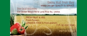Umina Mall Fruit Shop