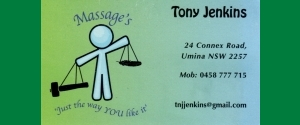 Tony Jenkins Massage