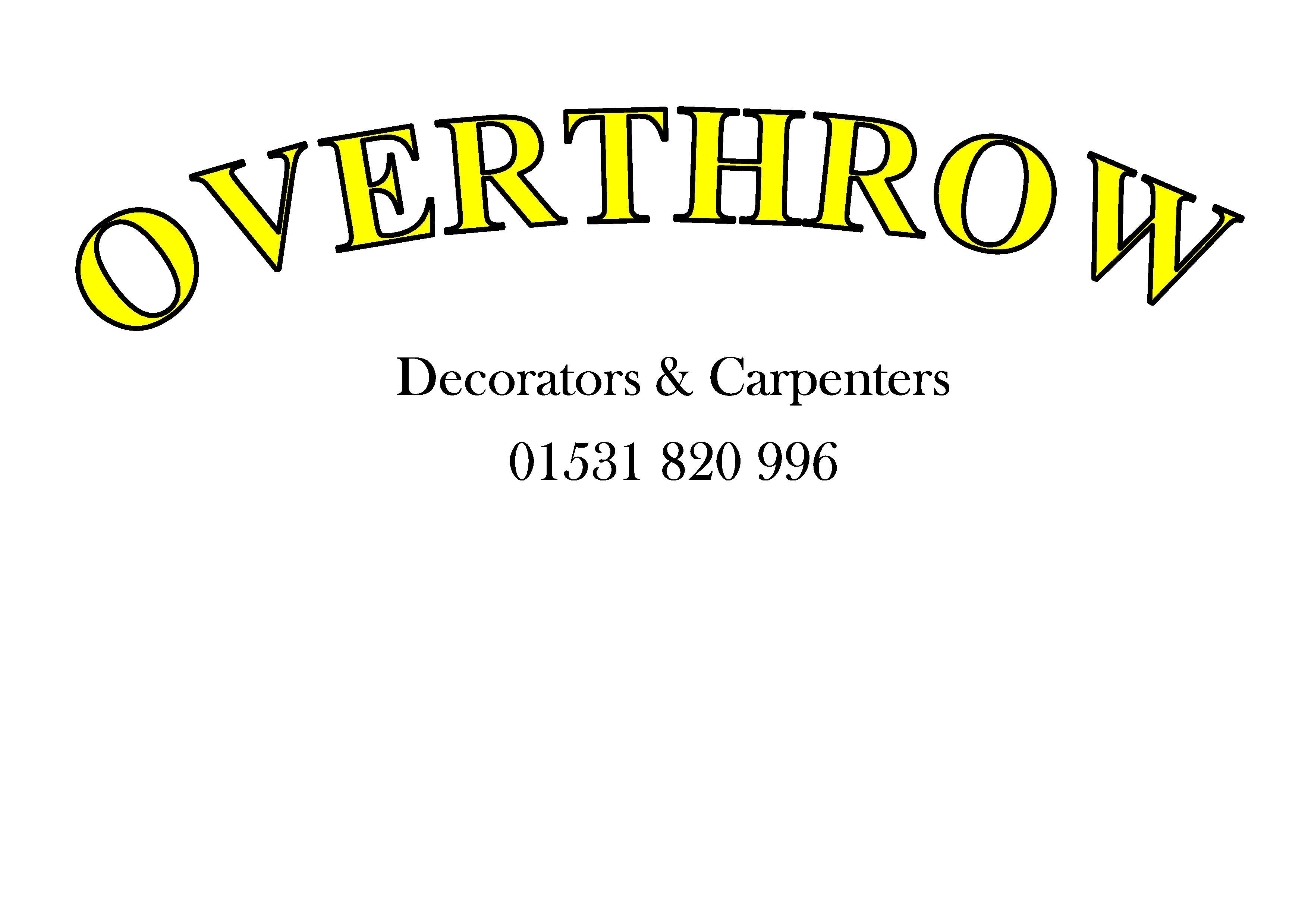 Overthrow Decorators and Carpenters