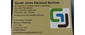 Gareth Jones Electrical Services