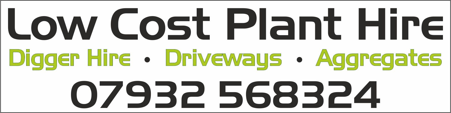 Low Cost Plant Hire