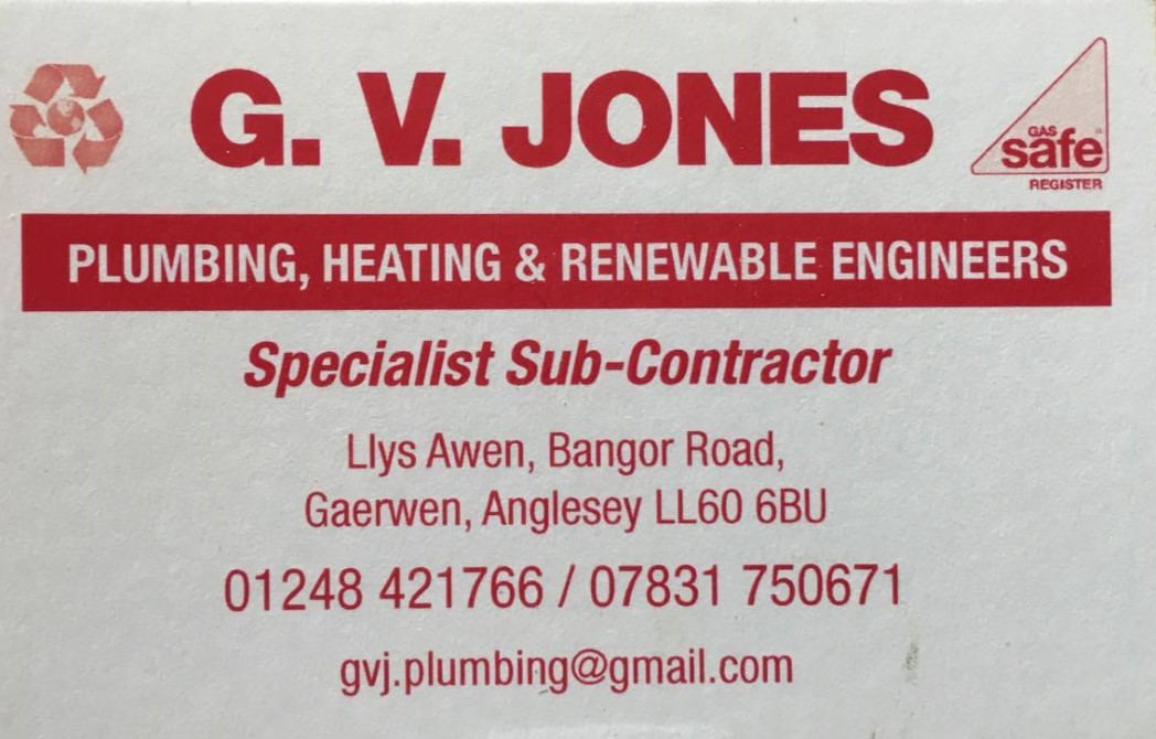 G V Jones Plumbing and Heating